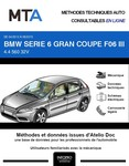MTA BMW Série 6 III (F12) Gran Coupe (F06) phase 1