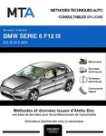MTA BMW Série 6 III (F13) cabriolet (F12) phase 1