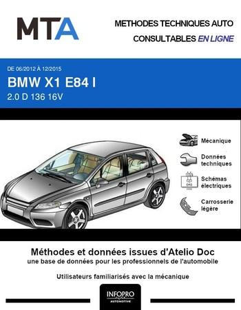 MTA BMW X1 I (E84) phase 2