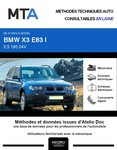 MTA BMW X3 I (E83) phase 1
