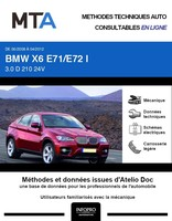 MTA BMW X6 I (E71) phase 1