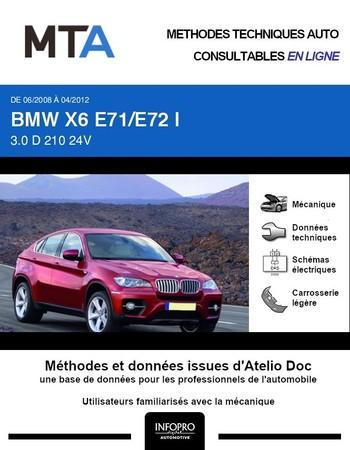 MTA BMW X6 I (E71) phase 1