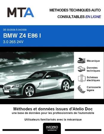 MTA BMW Z4 I (E85) coupé phase 2