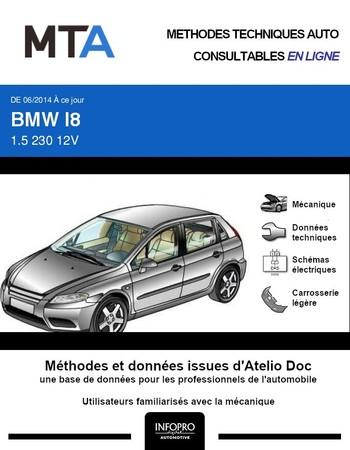MTA BMW i8 coupé phase 1