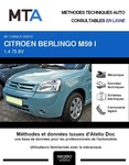 MTA Citroen Berlingo I 3p phase 2