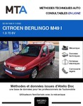 MTA Citroen Berlingo I phase 1 5p