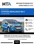 MTA Citroën Berlingo II 4 portes phase 2