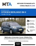 MTA Citroen Berlingo II 4p phase 1