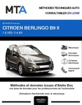 MTA Citroen Berlingo II 4p phase 3