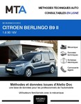 MTA Citroen Berlingo II 5p phase 1