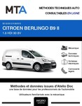 MTA Citroën Berlingo II Fourgon 5 portes phase 2