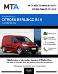 MTA Citroen Berlingo II fourgon 3p phase 1