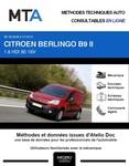 MTA Citroën Berlingo II fourgon 4p phase 1