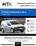 MTA Citroën Berlingo II fourgon 4p phase 3
