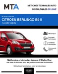 MTA Citroen Berlingo II fourgon 5p phase 3