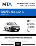 MTA Citroën Berlingo III fourgon 4p