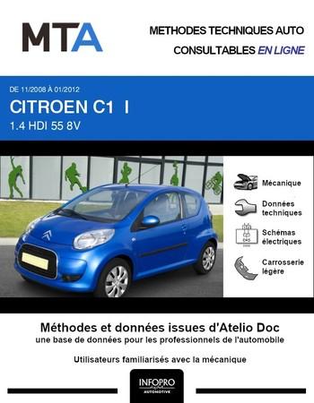 MTA Citroën C1 I 3p phase 2
