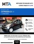 MTA Citroën C1 I 5 portes phase 2