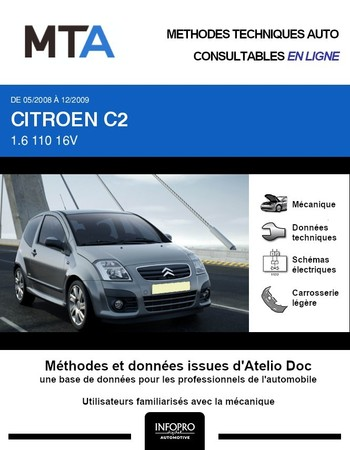 MTA Citroën C2 phase 2
