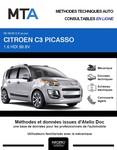 MTA Citroën C3 Picasso phase 2