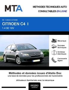 MTA Citroën C4 I 5 portes phase 1