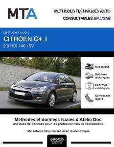 MTA Citroën C4 I 5 portes phase 2