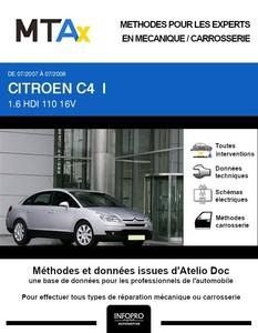 MTA Citroën C4 I phase 1