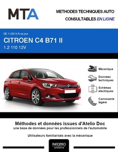 MTA Citroën C4 II 5 portes phase 2