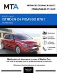 MTA Citroën C4 Picasso II phase 1