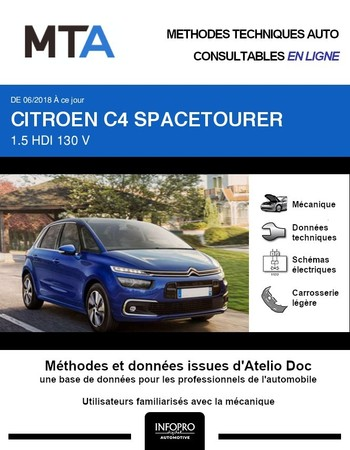 MTA Citroën C4 SpaceTourer