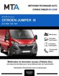 MTA Citroën Jumper II plateau double cabine phase 2