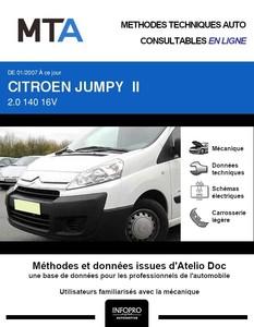 MTA Citroën Jumpy II plancher cabine