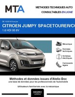 MTA Citroën SpaceTourer 4p