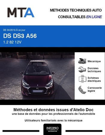 MTA DS 3 cabriolet
