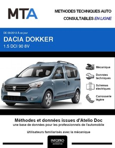 MTA Dacia Dokker 4p phase 1