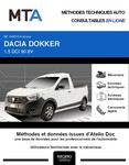 MTA Dacia Dokker  pick-up phase 1