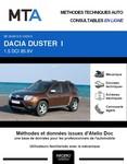 MTA Dacia Duster I phase 1