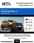 MTA Dacia Duster II