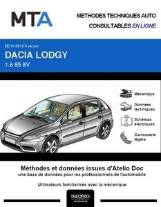 MTA Dacia Lodgy phase 1