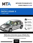 MTA Dacia Logan II  berline phase 1