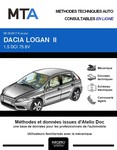 MTA Dacia Logan II  berline phase 2