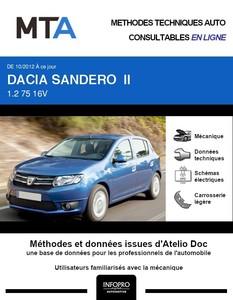 MTA Dacia Sandero II