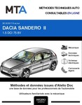 MTA Dacia Sandero II phase 2