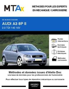 MTA Expert Audi A3 II 3 portes phase 1