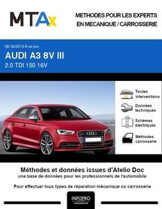 MTA Expert Audi A3 III berline phase 1