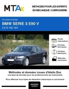 MTA Expert BMW Série 3 V (E90) berline phase 1