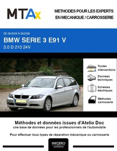 MTA Expert BMW Série 3 V (E91) break phase 1