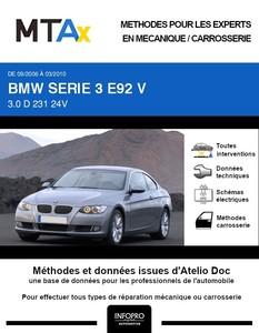 MTA Expert BMW Série 3 V (E92) coupé 2 portes phase 1