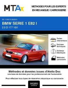 MTA Expert BMW Série1 I (E82) coupé 2 portes