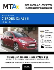 MTA Expert Citroën C3 II phase 2